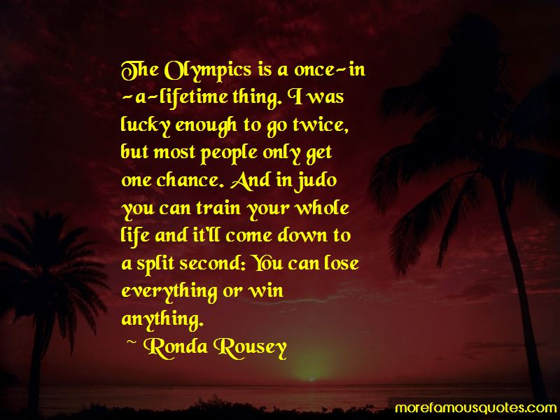 You Only Get One Chance Life Quotes Pictures 4