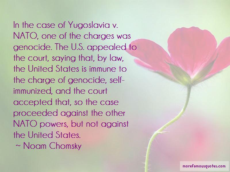 Yugoslavia Genocide Quotes