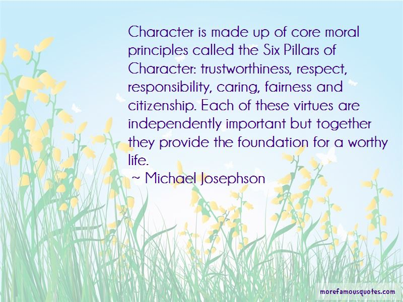 6 Pillars Of Character Quotes Pictures 3