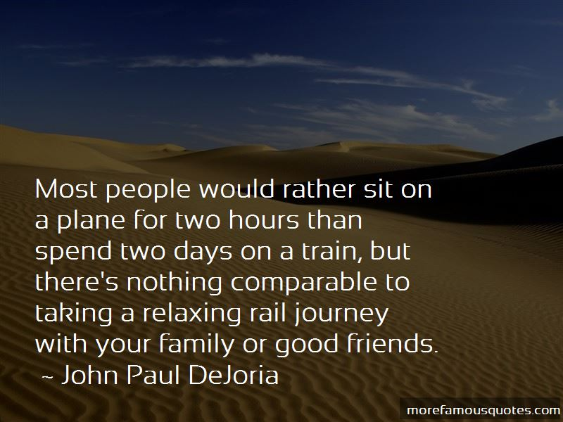 A Journey By Train Quotes Top 32 Quotes About A Journey By Train From Famous Authors
