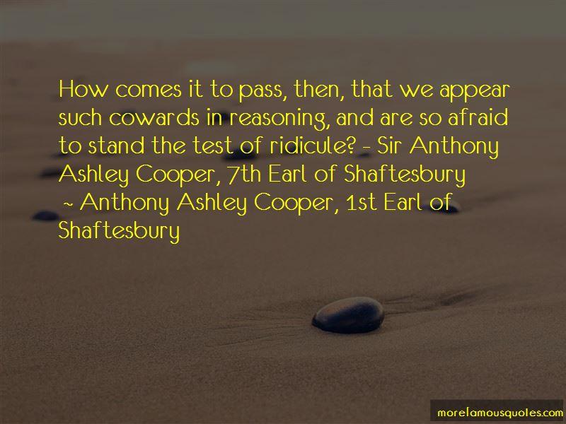 Anthony Shaftesbury Quotes