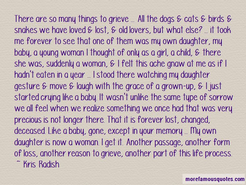 Baby Girl Grown Up Quotes