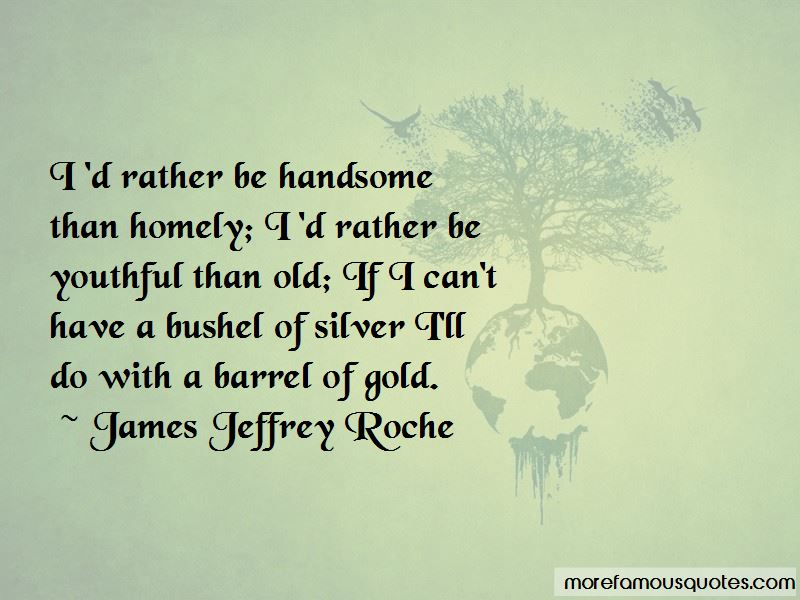 Be Handsome Quotes Pictures 2