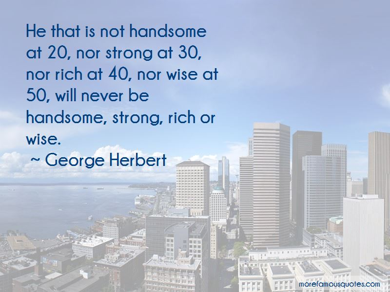Be Handsome Quotes Pictures 3