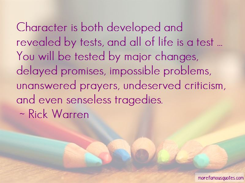 Character Is Tested Quotes Pictures 4