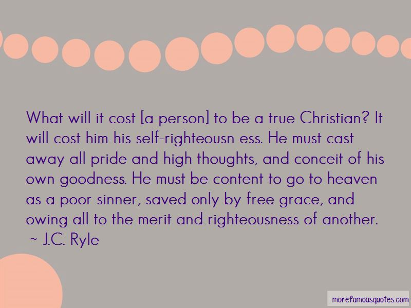 Christian Self Righteousness Quotes: top 6 quotes about ...