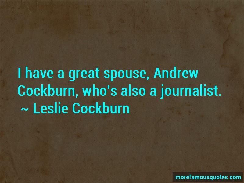 Cockburn Quotes