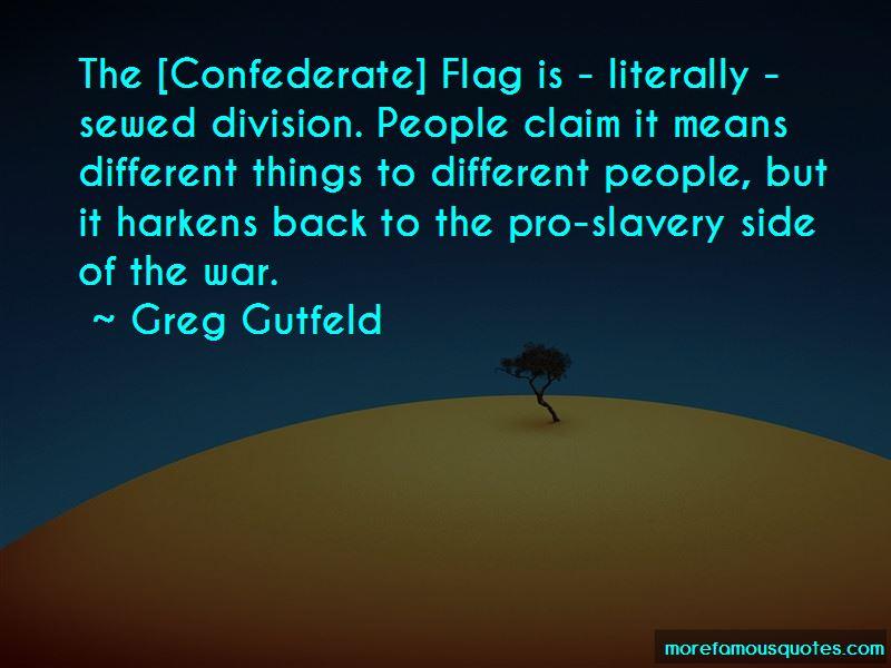 Confederate Pro Slavery Quotes