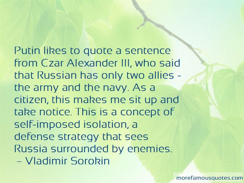 Czar Alexander Iii Quotes