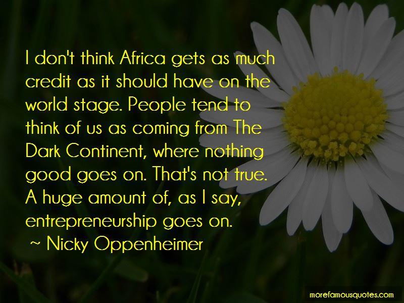 Dark Continent Quotes Pictures 2