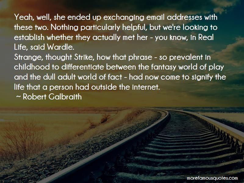 Email Addresses Quotes