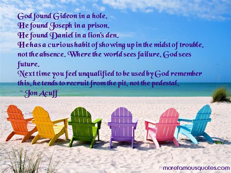 Failure God Quotes