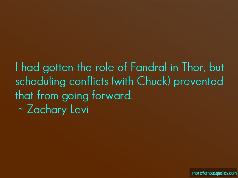 Fandral Quotes