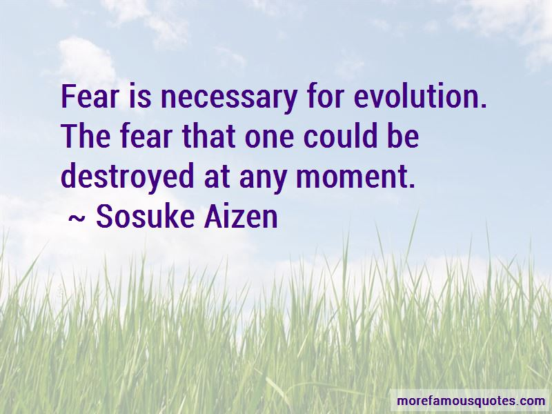 Fear Is Necessary Quotes