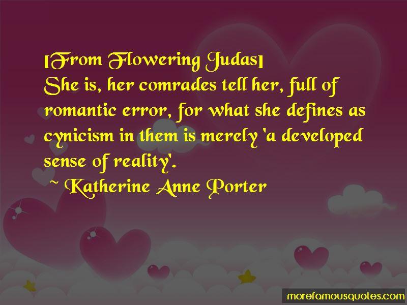 Flowering Judas Quotes
