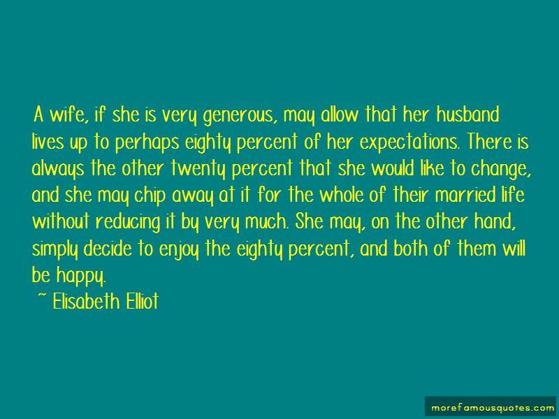 Generous Husband Quotes