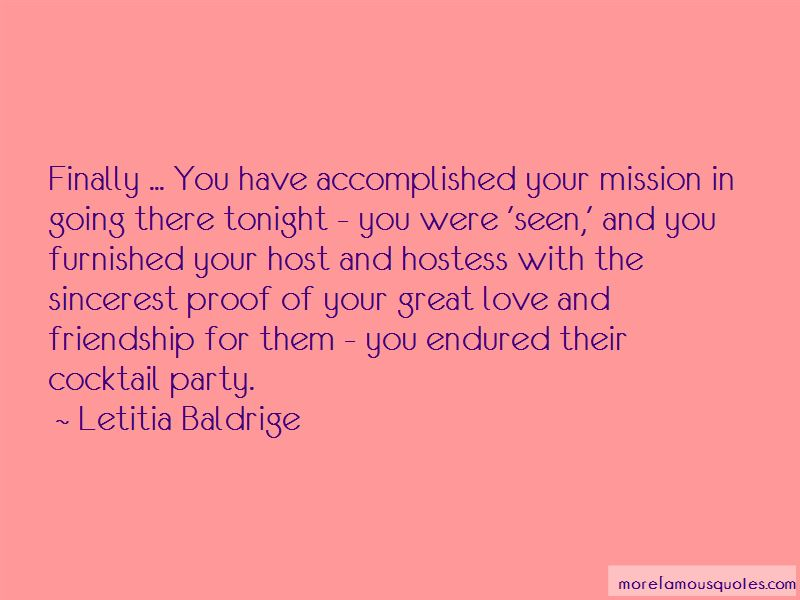 Great Hostess Quotes Pictures 3