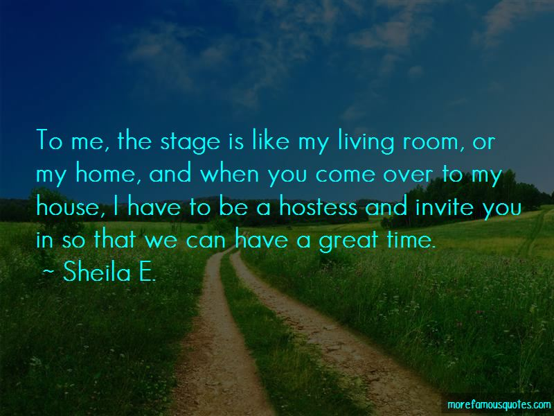 Great Hostess Quotes