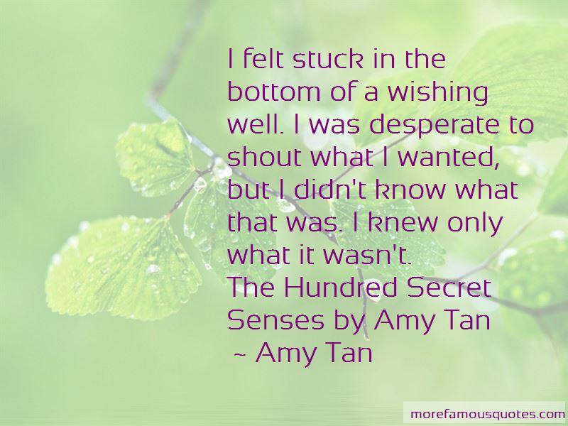 Hundred Secret Senses Quotes