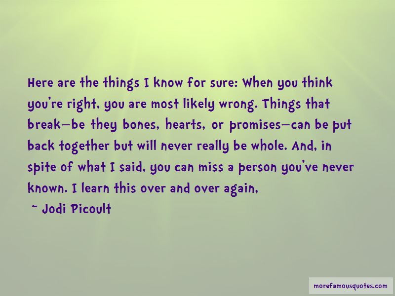 I Will Miss You Again Quotes
