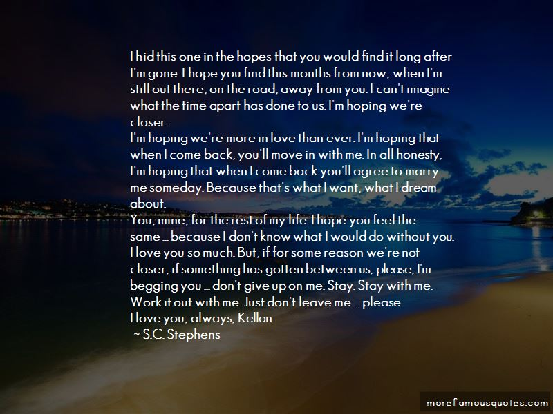 I'm Not Begging You To Love Me Quotes Pictures 3