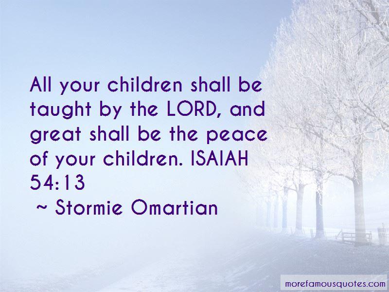 Isaiah 54 Quotes