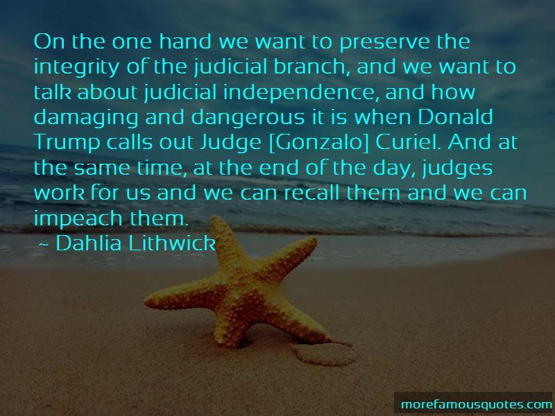 Judicial Integrity Quotes Pictures 3