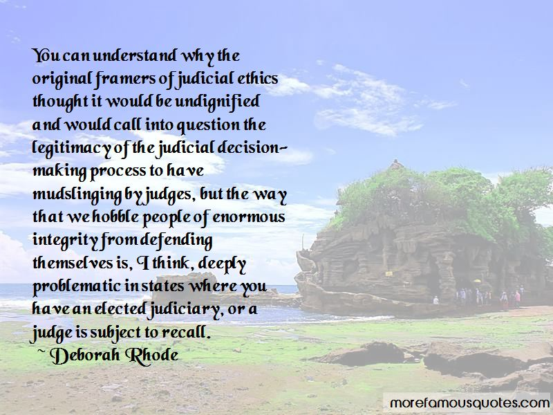 Judicial Integrity Quotes Pictures 4