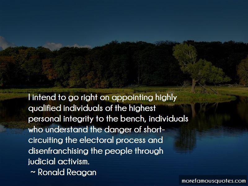 Judicial Integrity Quotes