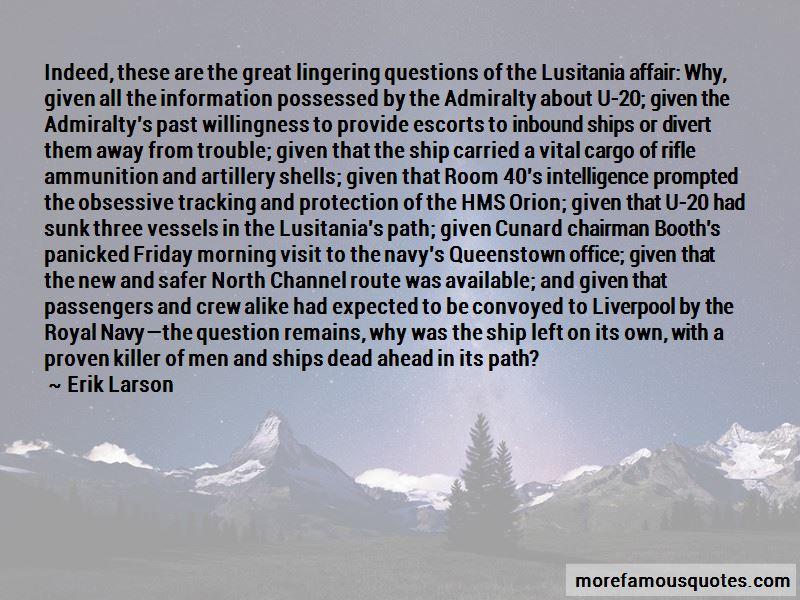 Lusitania Ship Quotes Pictures 3
