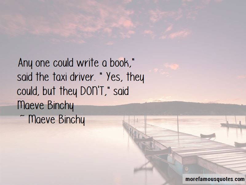 Maeve Binchy Book Quotes