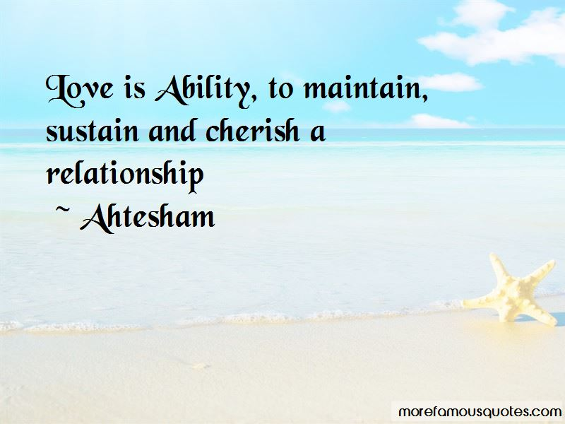Maintain Love Relationship Quotes Pictures 2