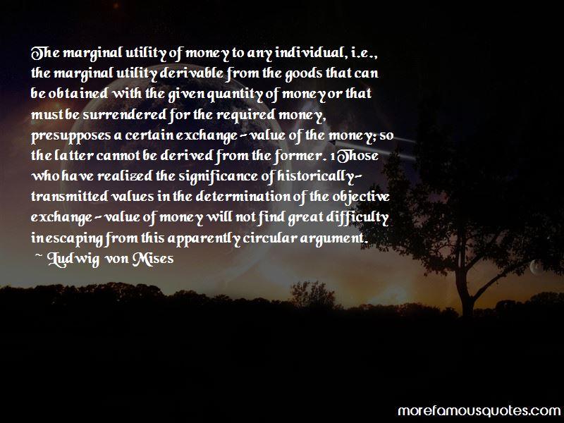 Marginal Utility Quotes