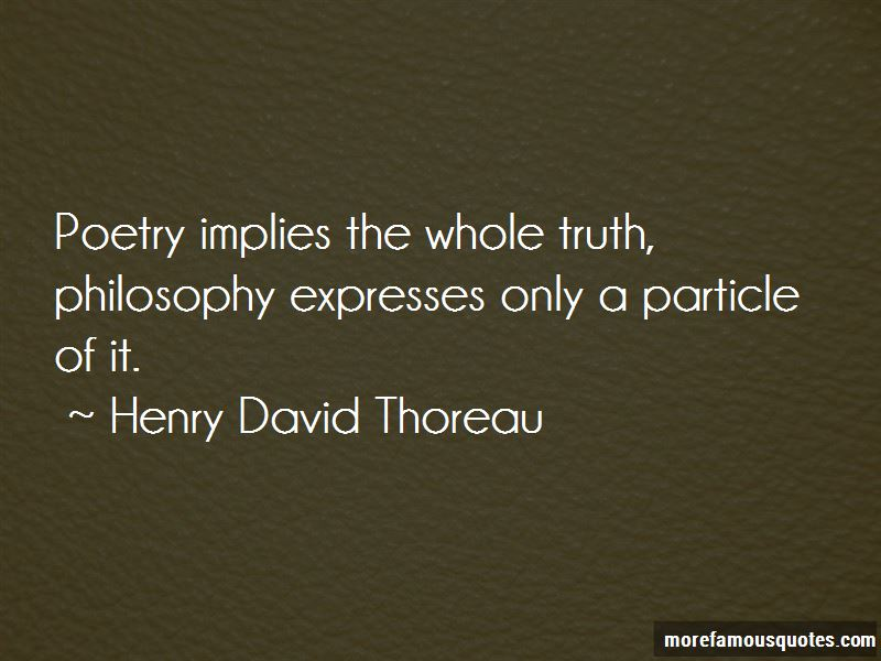 philosophy of truth Truth for so long it was the preserve of philosophers and theologians, but then came the going a step further, is the way to truth a binary choice between traditional religion/philosophy and science.