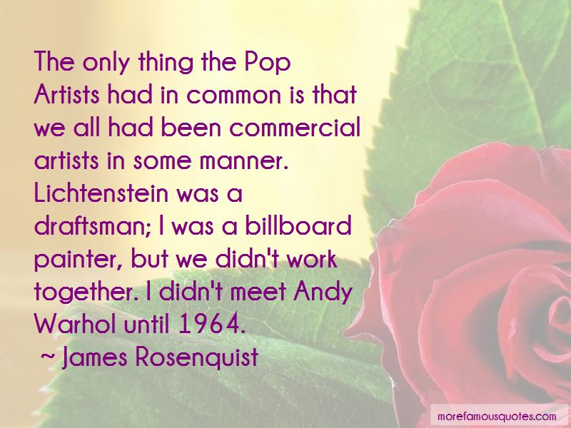 Pop Artists Quotes Pictures 4