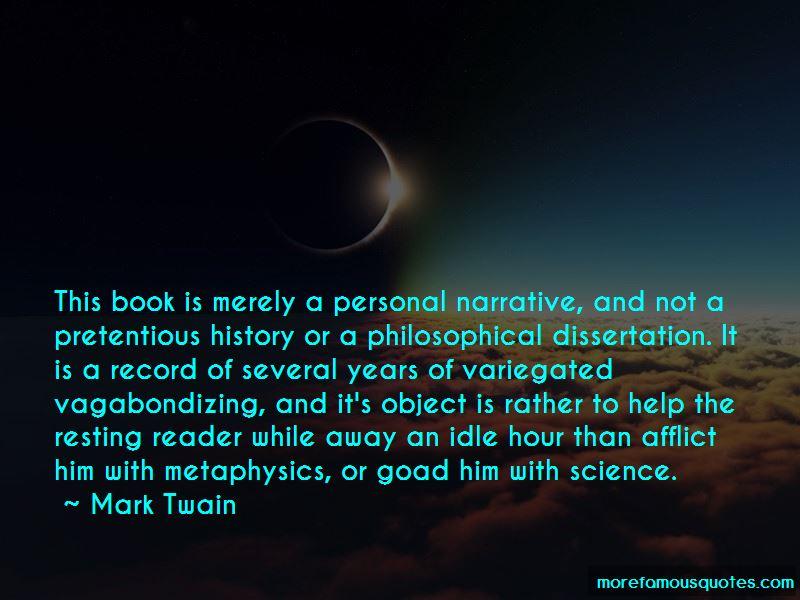 Pretentious Philosophical Quotes
