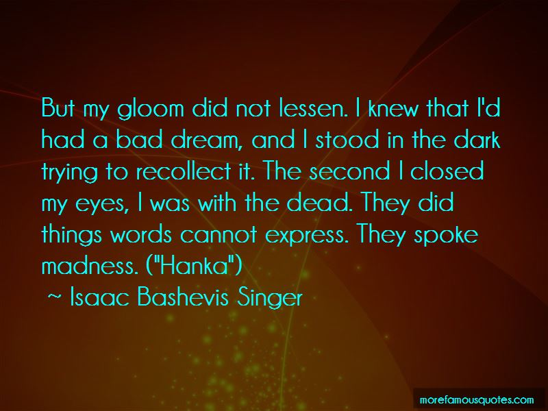 A Bad Dream Quotes Pictures 3