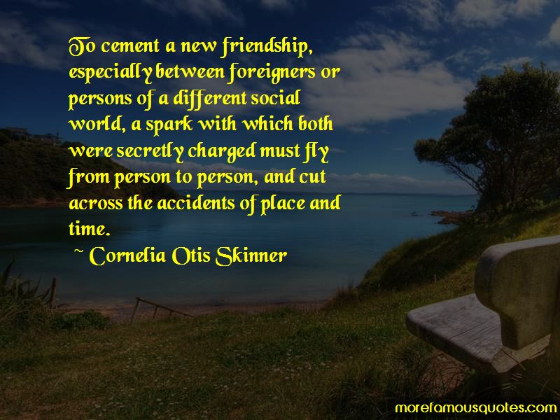 Quotes About A New Friendship
