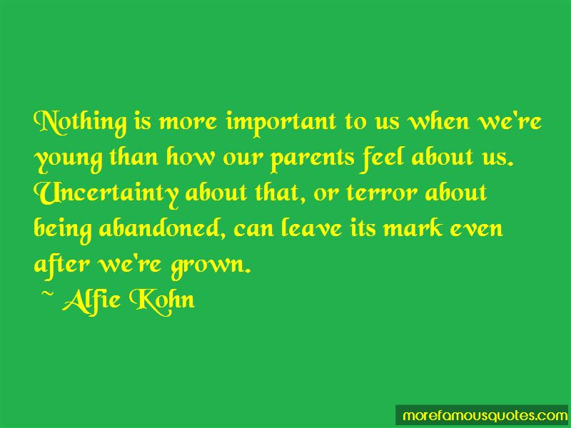 Quotes About Abandoned Parents