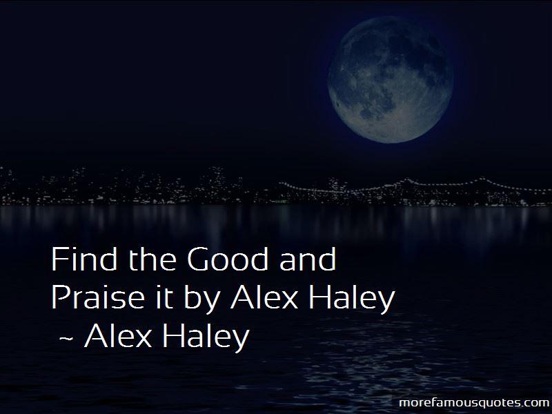 Quotes About Alex Haley