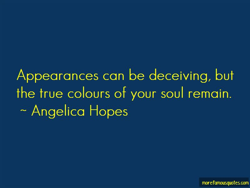 Quotes About Appearances Can Be Deceiving