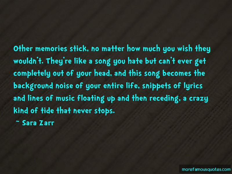 Quotes About Background Noise