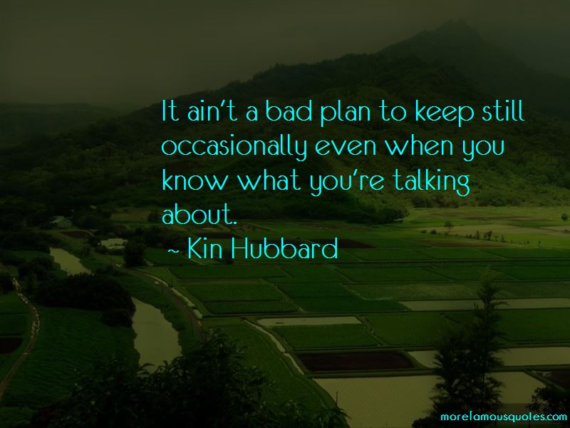Quotes About Bad Plan