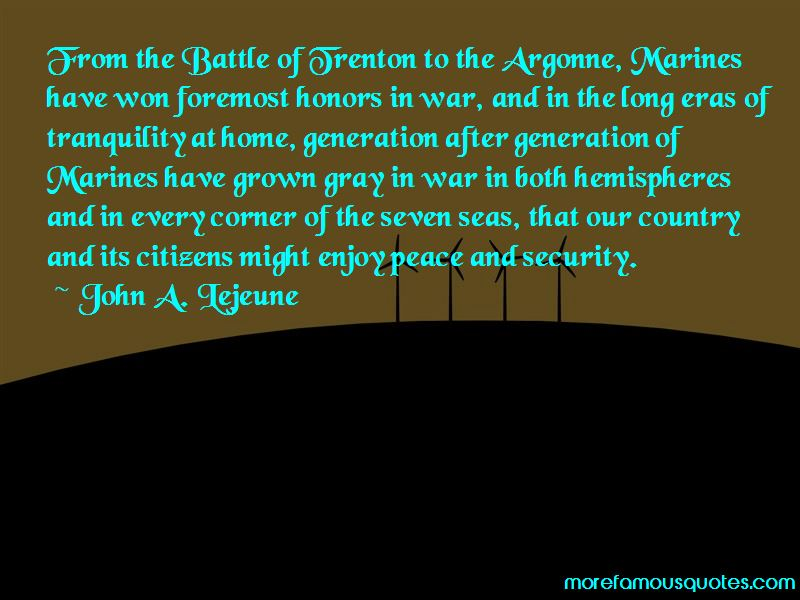 Quotes About Battle Of Trenton