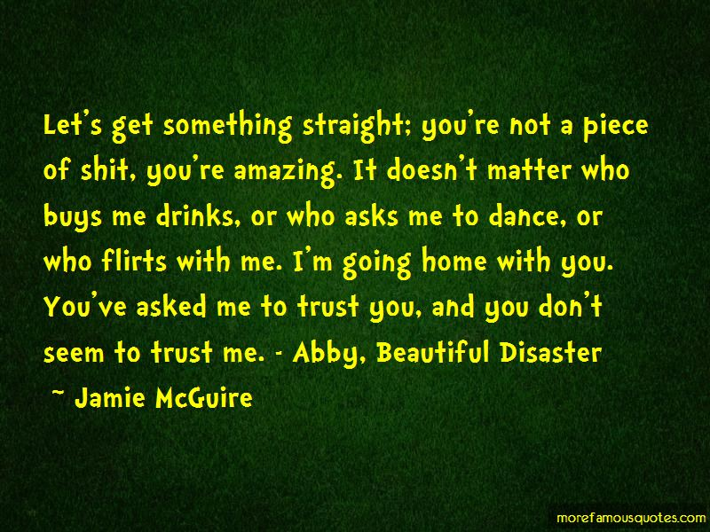 Quotes About Beautiful Disaster
