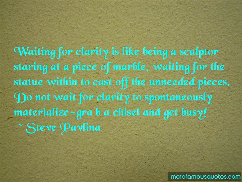 Being A Sculptor Quotes Pictures 2
