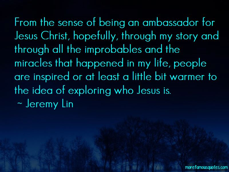Quotes About Being An Ambassador For Christ