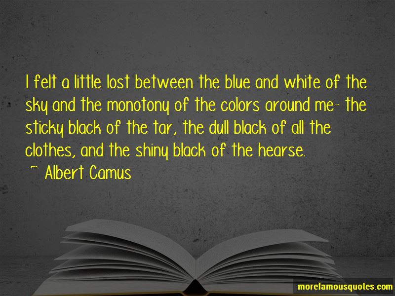 Quotes About Black And White Colors