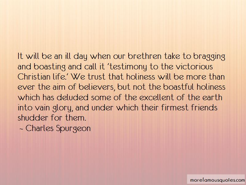 Quotes About Boastful Friends