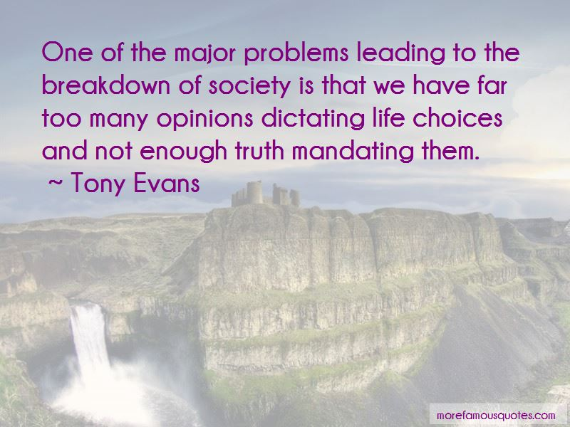 Quotes About Breakdown Of Society